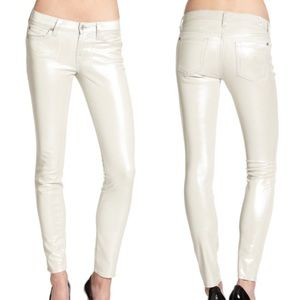 NEW! 7 For All Mankind Shiny Metallic Jeans